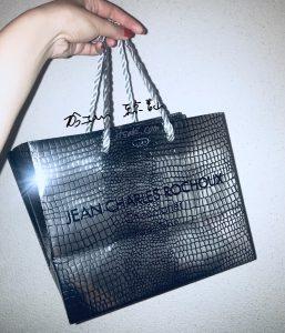 Jean charles rochoux chocolatier Paris Tokyo bag