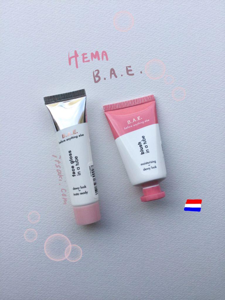 HEMA B.A.E. Face gloss blush Netherlands