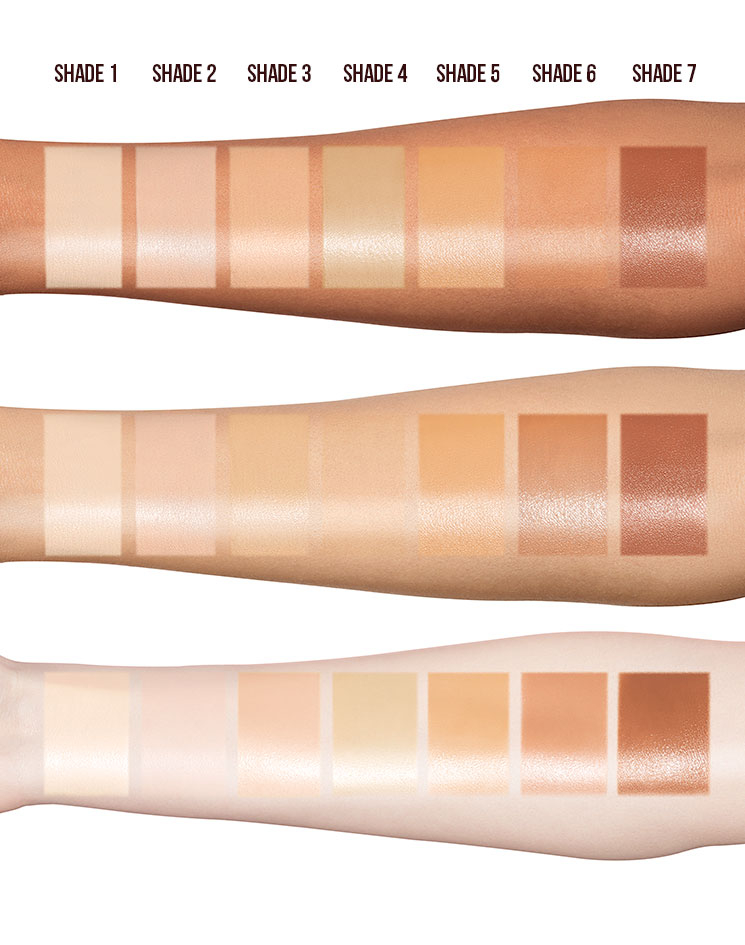 charlotte tilbury holloywood flawless filter -all-shades